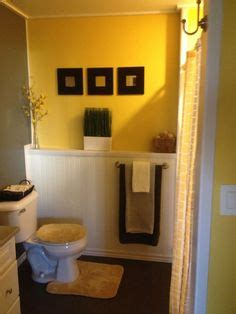 yellow and brown bathroom decor 1000 images about yellow and gray home decor on pinterest