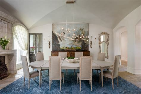 french country dining room houston