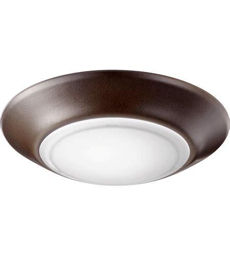 Quorum 905 6 86 Signature Led 6 Inch Oiled Bronze Flush 6 Inch Flush Mount Ceiling Light