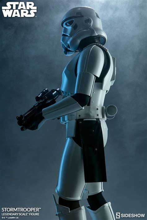 Sale Topeng Stormtrooper Starwars wars stormtrooper legendary scale sideshow collectibles statue mania