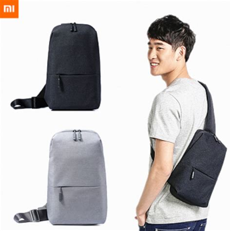 Original Xiaomi Multifunctional Chest Pack Crossbody Bag tokuniku original xiaomi multifunctional chest pack