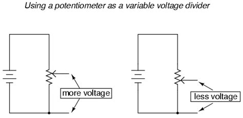 voltage divider using variable resistor lessons in electric circuits volume i dc chapter 6