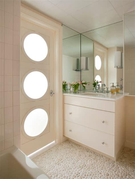 white pebble tiles bathroom white pebble tile deck contemporary with balcony candles