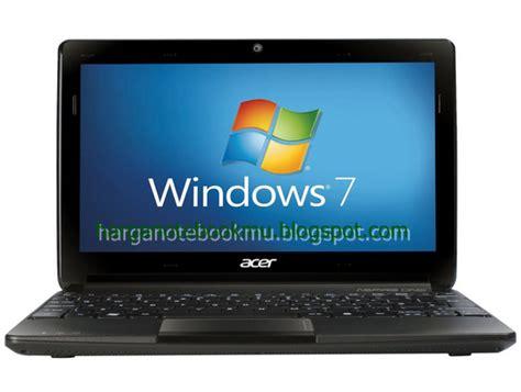 Laptop Acer D270 Terbaru spesifikasi dan harga notebook acer aspire one d270 26dkk