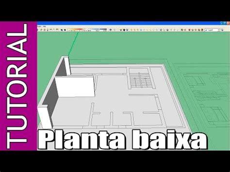 tutorial do google sketchup 8 em portugues tutorial google sketchup planta baixa para iniciantes