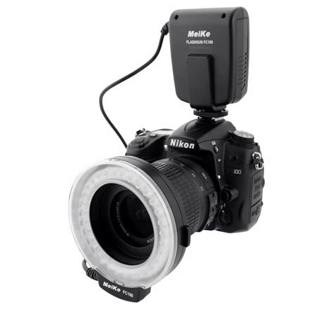 meike fc 100 macro ring flash light for nikon d7000 d5100 d3100 d90 d300s d3000 ebay