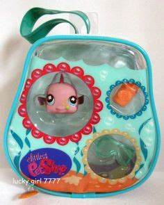 Panda Stripe Pink Edition lps on littlest pet shops lps pets and baby fish