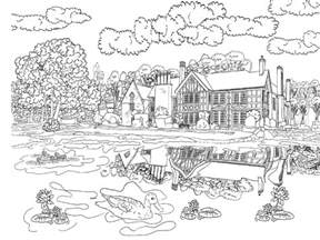 Free Coloring Pages Of Scenery Beautiful Scenery Colouring Pages In The Playroom