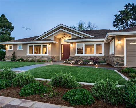 creative remodeled house design conversion of ranch fascinating saratoga ranch remodel exterior
