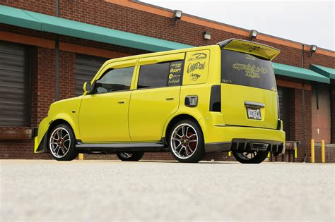 2006 scion xb parts custom scion xb 2006 arlon electric lime wrap