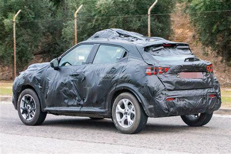Nissan Juke 2020 by 2020 Nissan Juke Spied In Europe Wrapped In A Lot Of