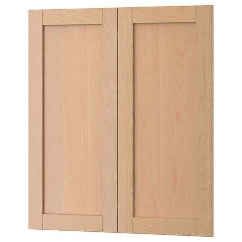 kitchen flat panel cabinet doors vs solid wood