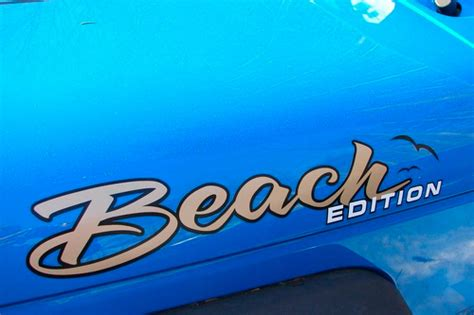 jeep beach logo product pair rock krawler logo suspension hood decal