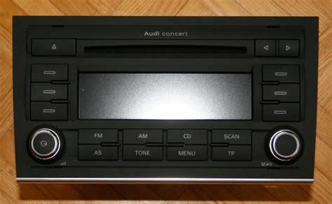Audi Concert 3 by Concert 3 Orig Audi Biete Car Audio
