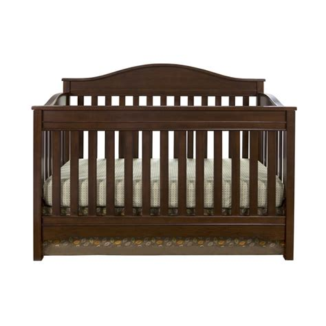Crib In Walnut Da5673dr Walnut Baby Crib