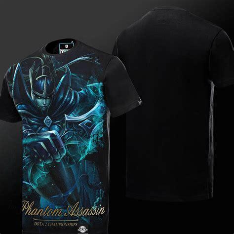 Dota 2 Tees Dota 2 Phantom Assassin T Shirt Defense Of The Ancients