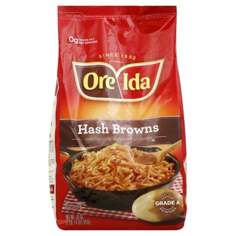 country style hashbrowns ore ida hash browns country style