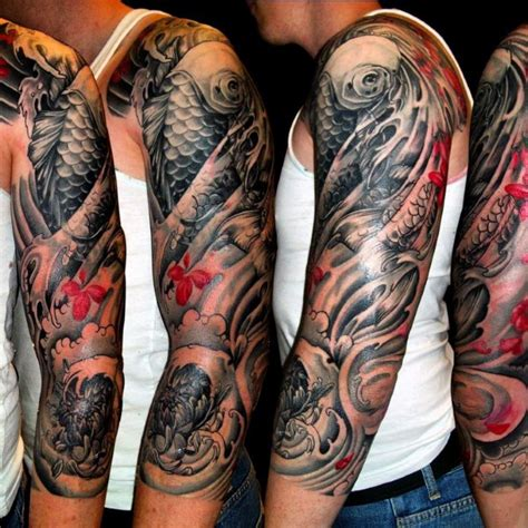 mens tattoo sleeve ideas 50 japanese tattoos for masculine motifs