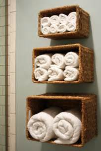 storage for bathroom towels bathroom towel storage 12 creative inexpensive ideas