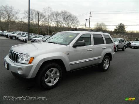 2005 grey jeep grand cherokee jeep grand cherokee limited 2005 for sale