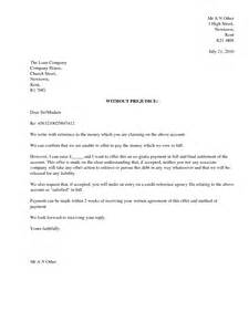 settlement letter to creditor sample 3