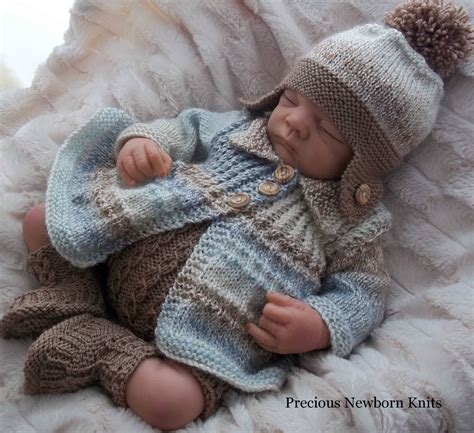 knit baby dk baby knitting pattern 38 to knit baby boys or reborn