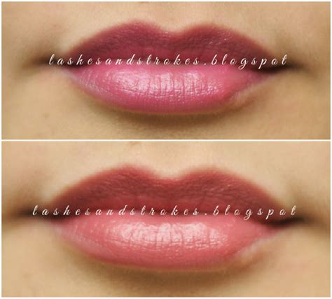 Lipstik Maybelline Pinkalicious lashes and strokes review maybelline color show lipstick in 402 plum tastic and 105 pinkalicious