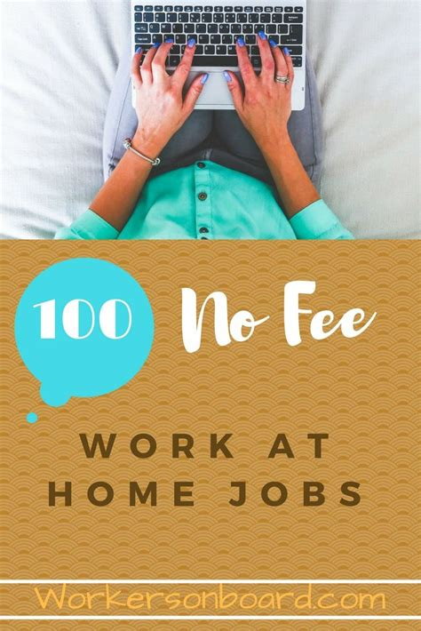 No Fee Online Jobs Work From Home - 17 best ideas about work for hire on pinterest jobs for