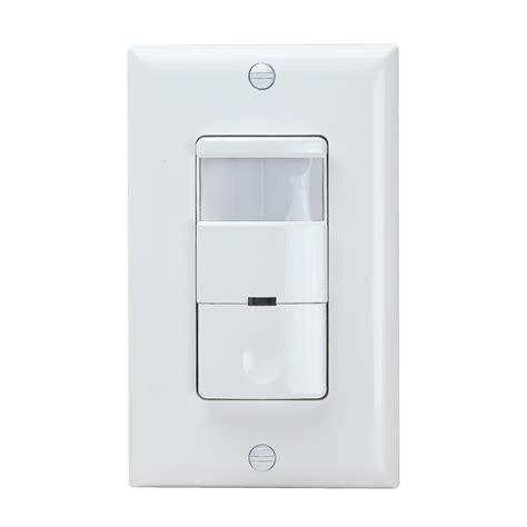 occupancy sensor light switch dwos j pir 2 in 1 wall switch occupancy sensors enerlites
