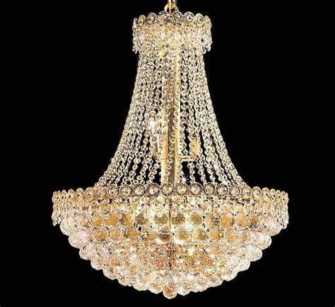 Century Collection 12 Light Large Crystal Chandelier Large Chandelier Lighting