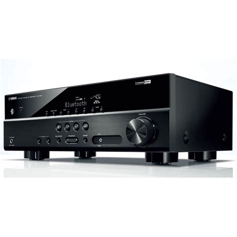 Home Theater Receiver yamaha rx v379 5 1 channel home theater receiver 100 watts