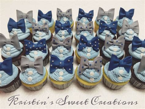 Bow Tie Baby Shower Ideas by Bow Tie Baby Shower Cupcakes Www Imgkid The Image