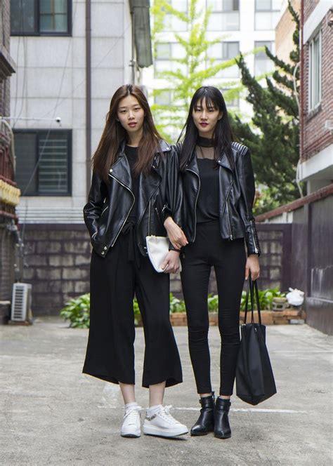 Korean Black Style 25 best ideas about korea style on