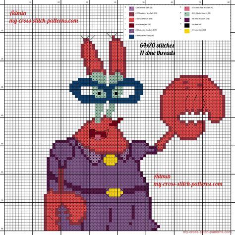 pattern maker software cross stitch mama krabs free cross stitch pattern made with crosti