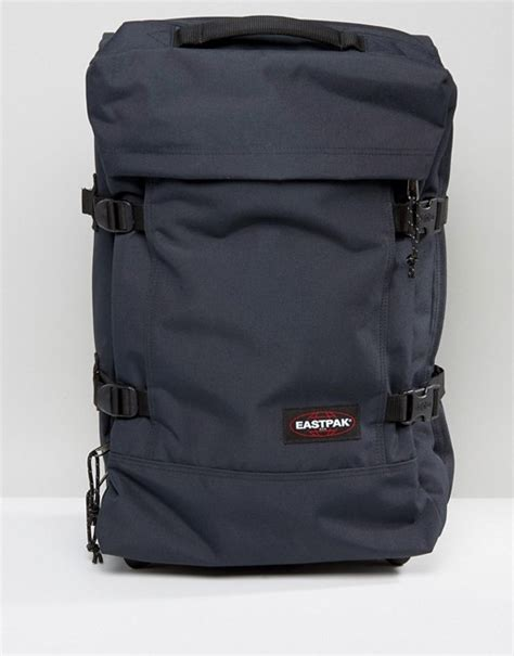 eastpak cabin luggage eastpak eastpak strapverz cabin luggage