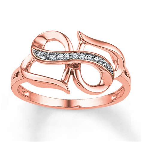 Infinity Ring Meaning Infinity Ring Accents 10k Gold
