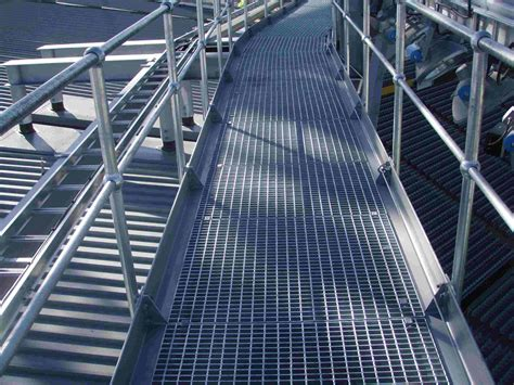 Webforge Handrail monowills and handrail stanchions