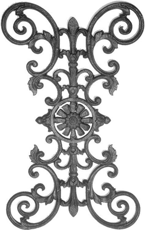 cast iron railing parts   Cast Iron Fence Panels & Parts