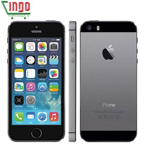 aliexpress buy iphone 5s factory unlocked apple iphone 5s 16gb 32gb 64gb rom 8mp ios 4 0