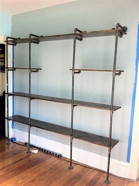 plumbing pipe bookshelves 60 best images about diy plumbing pipe features on