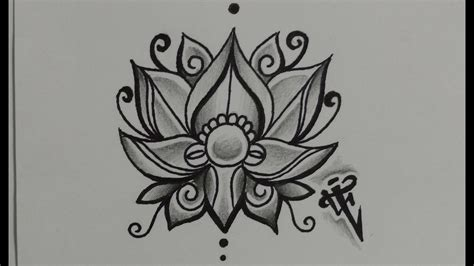 flor de loto tattoo dise 241 o flor de loto lotus flower design nosfe ink