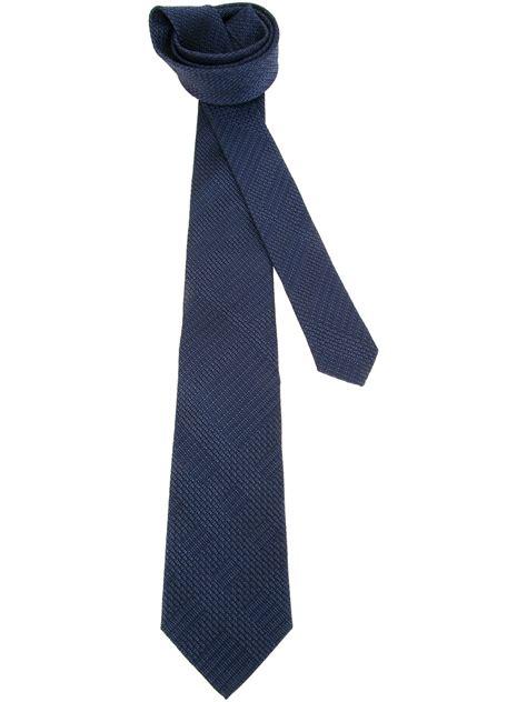 burberry regent tie in blue for lyst