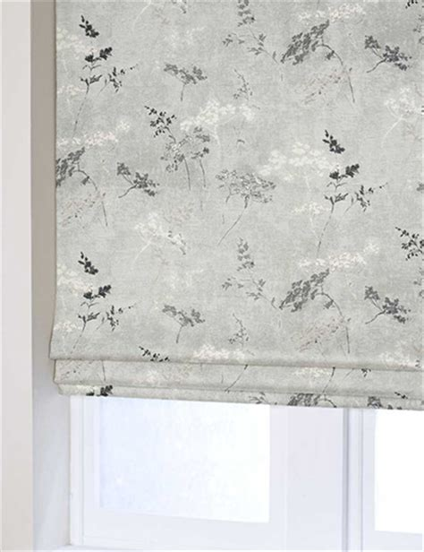 grey print curtains curtain cow parsley print grey next made to measure