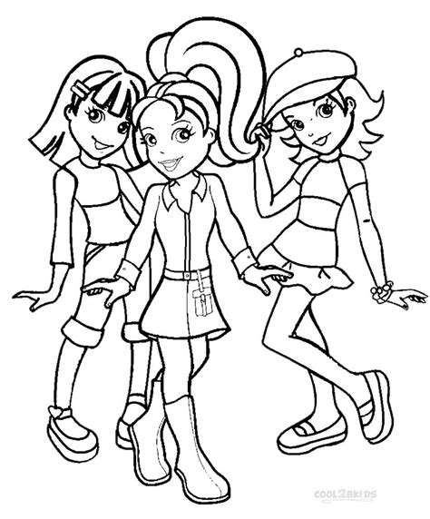 Printable Polly Pocket Coloring Pages For Kids Cool2bkids Polly Pocket Coloring Pages