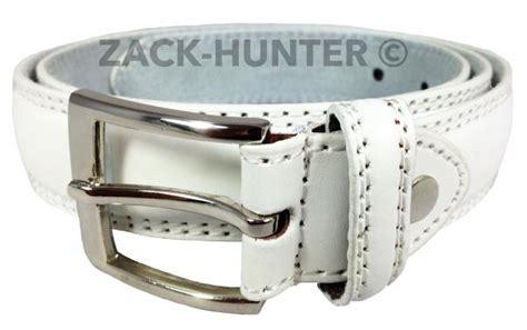 mens white leather belts white trouser belts mens 1 quot belts