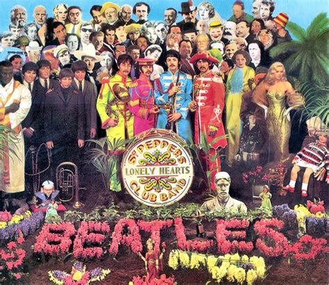 the beatles sgt peppers lonely hearts club band the halmanator coolest worst album covers