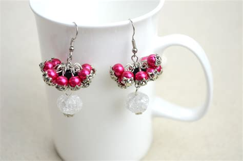 Handmade Earrings Ideas - jewelry handmade designs diy bridesmaid jewelry earrings