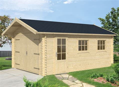 log cabin garages 45mm log cabin garage geir