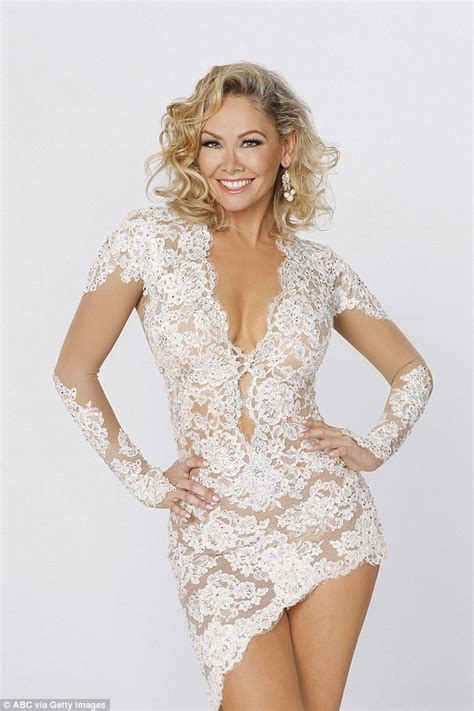 who was the blonde in dwts kym johnson foxtrots around romance rumours with dancing