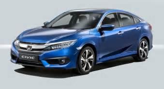 Honda Europe European Spec 2017 Honda Civic Sedan Is More Than Familiar